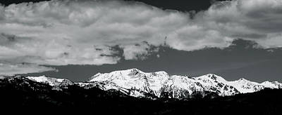Photograph - Wallowa Range Eagle Cap Wilderness by Ed  Riche