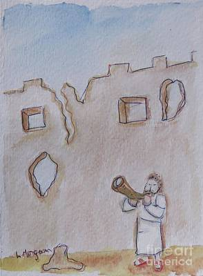 Walls Of Jericho Art Print