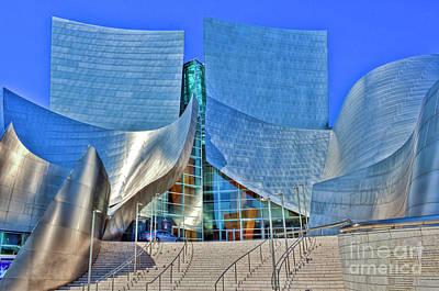 Lovely Lavender - Walt Disney Concert Hall by David Zanzinger