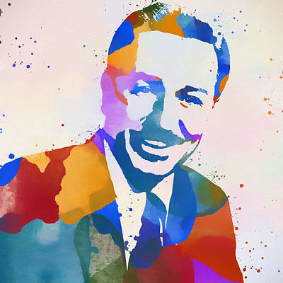 Painting - Walt Disney by Dan Sproul