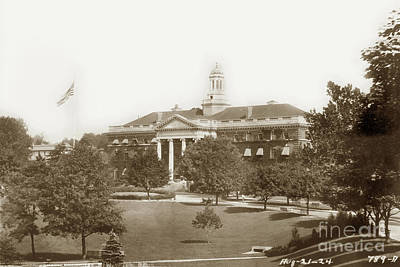 Photograph - Walter Reed General Hospital  August 21, 1924 by California Views Archives Mr Pat Hathaway Archives