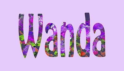 Digital Art - Wanda by Corinne Carroll