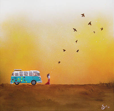 Painting - Wanderlust by Sue Art studio