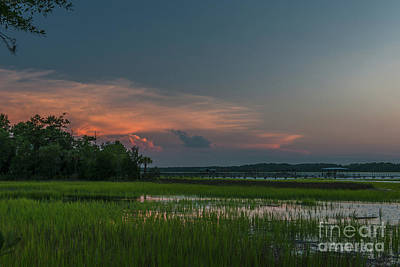 Photograph - Wando River Marsh Magic by Dale Powell