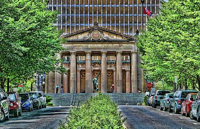 Photograph - War Memorial Building - Nashville by Allen Beatty
