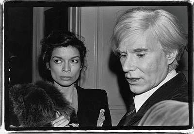 Photograph - Warhol & Jagger Attend Event by Fred W. Mcdarrah
