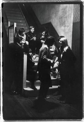 Photograph - Warhol & Velvet Underground At The Dom by Fred W. McDarrah