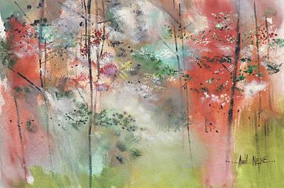 Painting - Warm Regards by Anil Nene