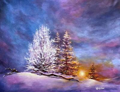 City Scenes - Warm Snow  by Vesna Delevska