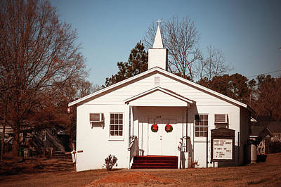 Photograph - Warner Temple Ame Zion 2009 Color 2 by Joseph C Hinson Photography