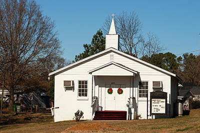 Photograph - Warner Temple Ame Zion 2009 Color by Joseph C Hinson Photography
