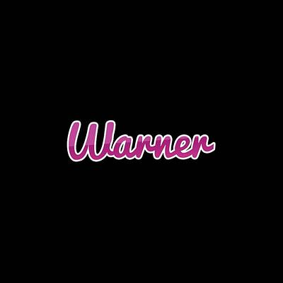 Digital Art - Warner #warner by TintoDesigns