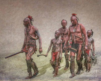 Digital Art - Warrior Family Pride Ver Two by Randy Steele