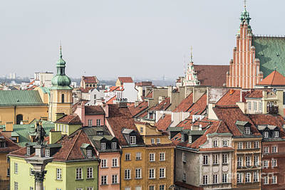 Photograph - Warsaw Skyline by Didier Marti