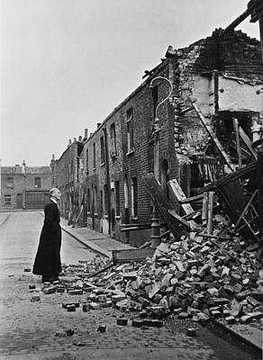 Photograph - Wartime Priest by Bert Hardy