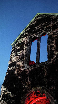 Photograph - Wartime Ruins Exeter Devon by Richard Brookes