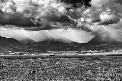 Photograph - Wasatch Storm Front by Mike Dawson