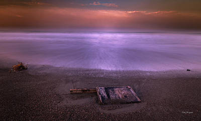 Photograph - Washed Ashore by Tim Bryan