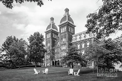 Photograph - Washington And Jefferson College Old Main by University Icons