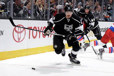 Los Angeles Kings Photograph - Washington Capitals V Los Angeles Kings by Aaron Poole
