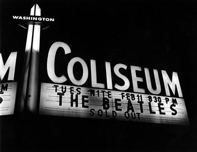 Beatles Photograph - Washington Coliseum by Michael Ochs Archives