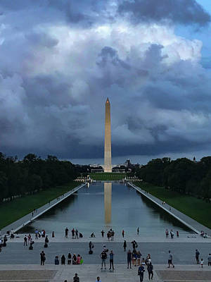 Photograph - Washington From Lincoln by Lora J Wilson