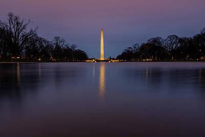 Photograph - Washington Monument Sunrise by Doug Ash