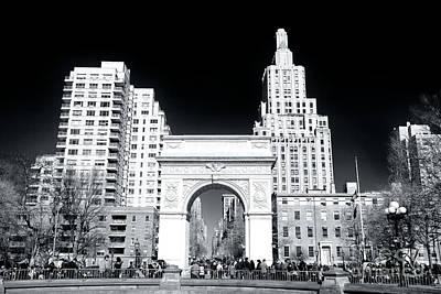 Photograph - Washington Square Park New York City by John Rizzuto
