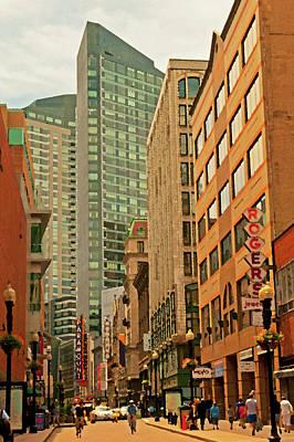Photograph - Washington Street by Paul Mangold