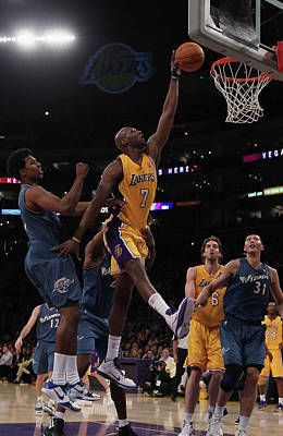 Photograph - Washington Wizards V Los Angeles Lakers by Jeff Gross