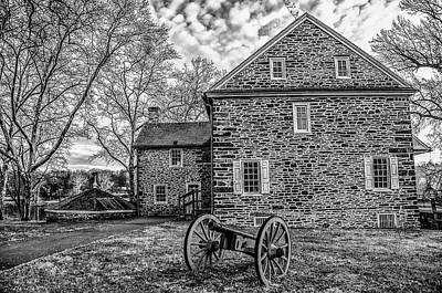 Photograph - Washingtons Crossing Pennsylvania In Black And White by Bill Cannon