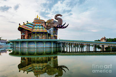Christmas Patents Rights Managed Images - Wat Ban Rai, the Elephant Temple2 Royalty-Free Image by Lee Craker
