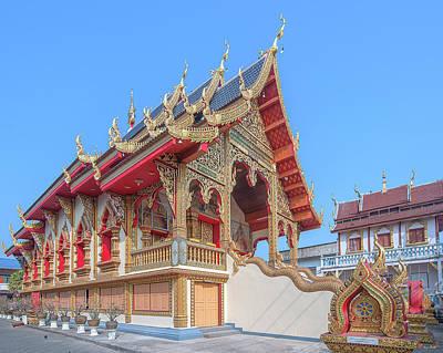 Photograph - Wat Chai Mongkon Phra Ubosot Dthlu0391 by Gerry Gantt