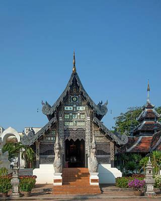 Photograph - Wat Chedi Luang Venerable Acharn Mun Bhuridatto Wihan Dthcm0058 by Gerry Gantt