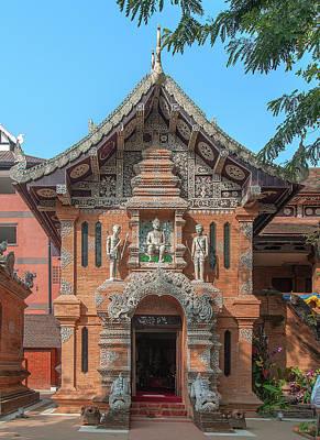 Photograph - Wat Lok Molee King Mengrai Wihan Dthcm0498 by Gerry Gantt