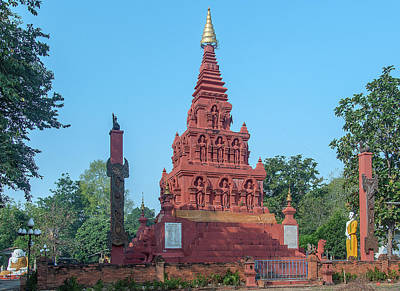 Photograph - Wat Pa Chedi Liam Phra Chedi Liam Dthcm2670 by Gerry Gantt