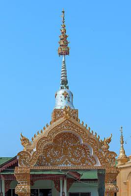 Photograph - Wat Pa Sang Ngam Temple Gate Dthlu0600 by Gerry Gantt