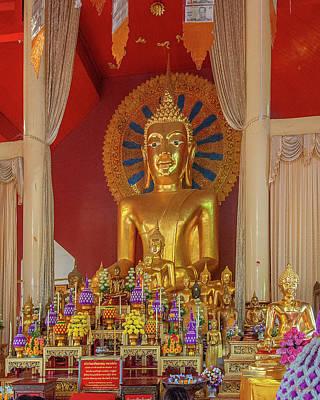 Photograph - Wat Phra Singh Phra Wihan Luang Buddha Images Dthcm2542 by Gerry Gantt