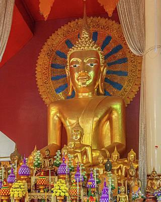 Photograph - Wat Phra Singh Phra Wihan Luang Principal Buddha Image Dthcm2543 by Gerry Gantt