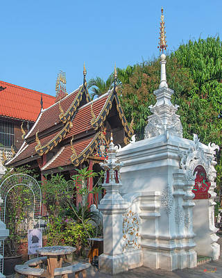 Photograph - Wat Puack Chang Merit Pavilion Dthcm2523 by Gerry Gantt