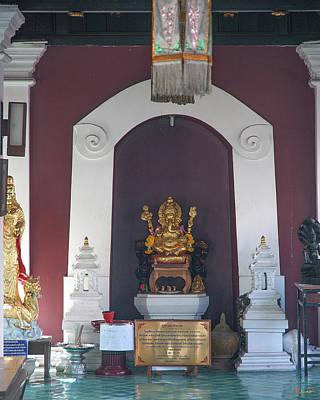 Photograph - Wat Puack Chang Merit Pavilion Ganesha Image Dthcm0165 by Gerry Gantt