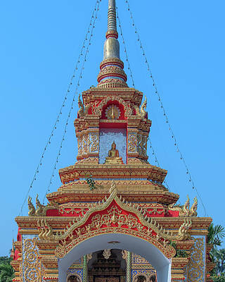 Photograph - Wat Tham Sangwet Temple Gate Dthlu0537 by Gerry Gantt