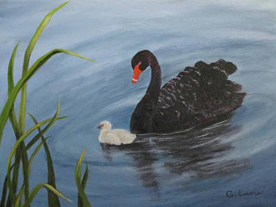 Painting - Watchful Eye by Roseann Gilmore