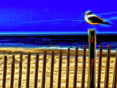 Royalty-Free and Rights-Managed Images - Watchin The Tide Roll, Away by Paul Wear