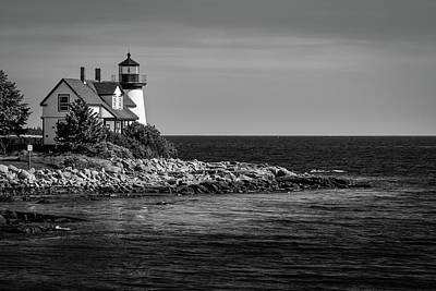 Photograph - Watching Over Prospect Harbor by Todd Henson