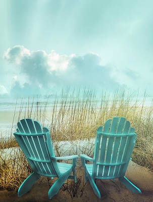 Photograph - Watching The Day Begin On A Misty Morning by Debra and Dave Vanderlaan