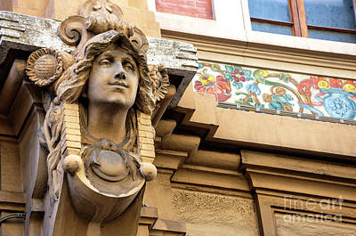 Photograph - Watching You From The Gambrinus Building Florence by John Rizzuto