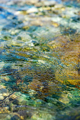 Photograph - Water 1 by Jean Gill