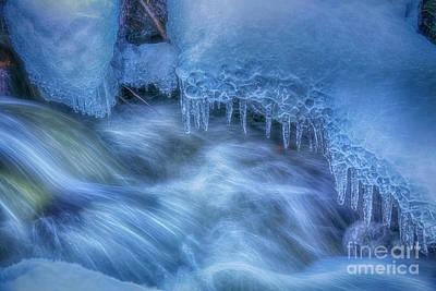 Impressionism Photos - Water and Ice 6 by Veikko Suikkanen