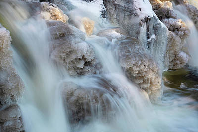 Photograph - Water And Ice by Brian Hale